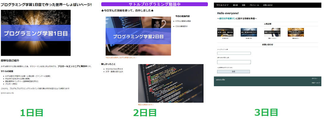 【収益は0円】プログラミング学習1ヶ月目終了